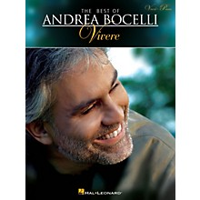 Hal Leonard The Best of Andrea Bocelli: Vivere Vocal/Piano Songbook