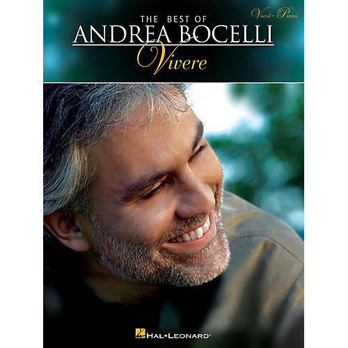 Hal Leonard The Best of Andrea Bocelli: Vivere Vocal/Piano Songbook