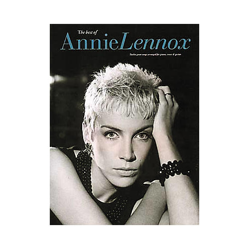 Hal Leonard The Best of Annie Lennox Piano, Vocal, Guitar Songbook