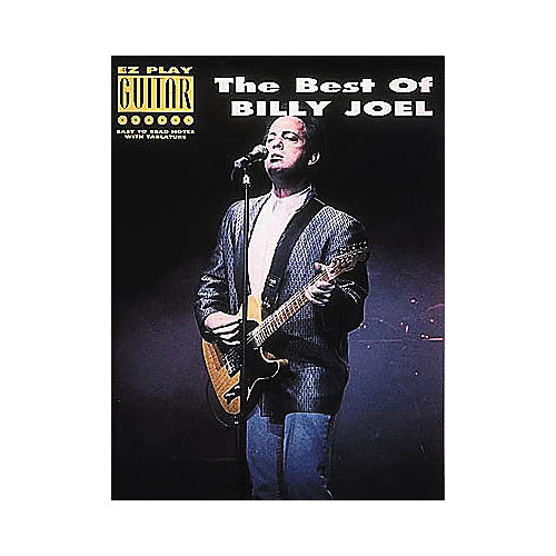 Hal Leonard The Best of Billy Joel Easy Guitar Book