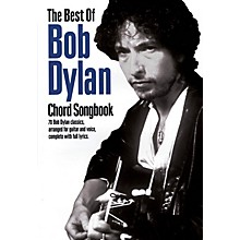 Music Sales The Best of Bob Dylan Chord Songbook Guitar Chord Songbook Series Softcover Performed by Bob Dylan