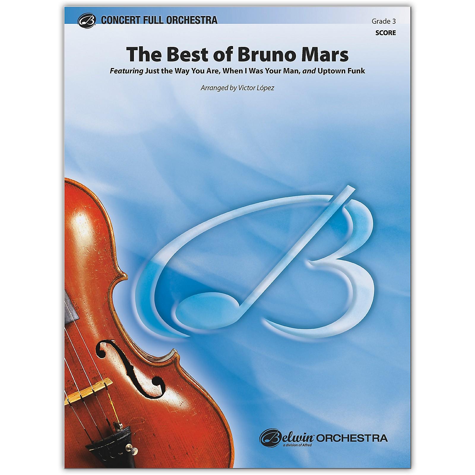 BELWIN The Best of Bruno Mars Conductor Score 3