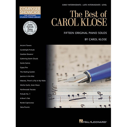 Hal Leonard The Best of Carol Klose Piano Library Series Book by Carol Klose (Level Inter)