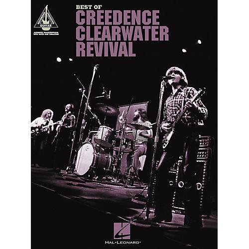 Hal Leonard The Best of Creedence Clearwater Revival Guitar Tab Songbook