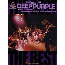 Hal Leonard The Best of Deep Purple Guitar Tab Book