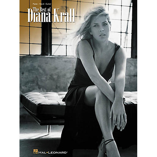 Hal Leonard The Best of Diana Krall Piano, Vocal, Guitar Songbook