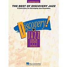 Hal Leonard The Best of Discovery Jazz (Baritone Sax) Jazz Band Level 1-2 Composed by Various