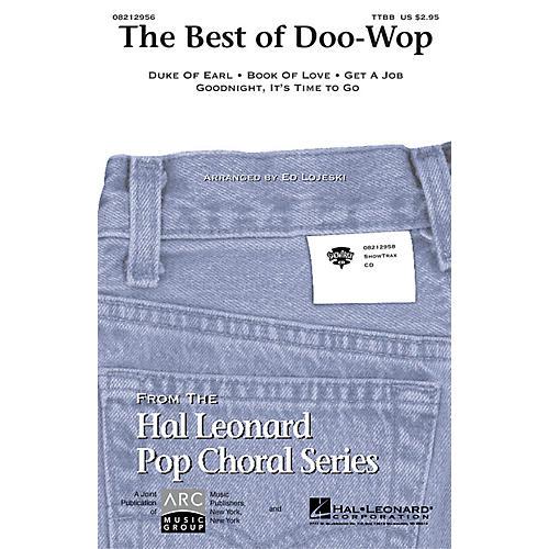 Hal Leonard The Best of Doo-Wop (Medley) (Men's) TTBB arranged by Ed Lojeski
