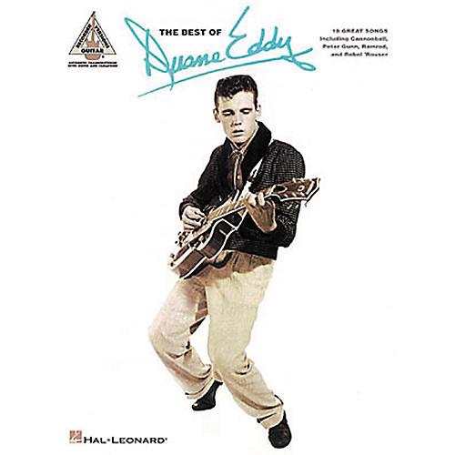 Hal Leonard The Best of Duane Eddy Guitar Tab Songbook