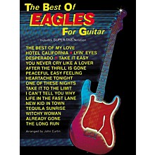 Hal Leonard The Best of Eagles Guitar Tab Book