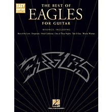 Hal Leonard The Best of Eagles for Guitar - Easy Guitar Songbook (Updated Edition)