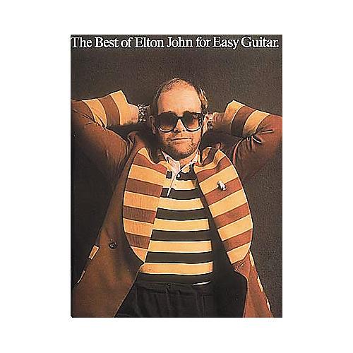 Hal Leonard The Best of Elton John for Easy Guitar Book