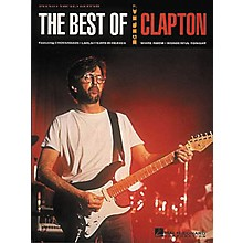 Hal Leonard The Best of Eric Clapton Piano, Vocal, Guitar Songbook