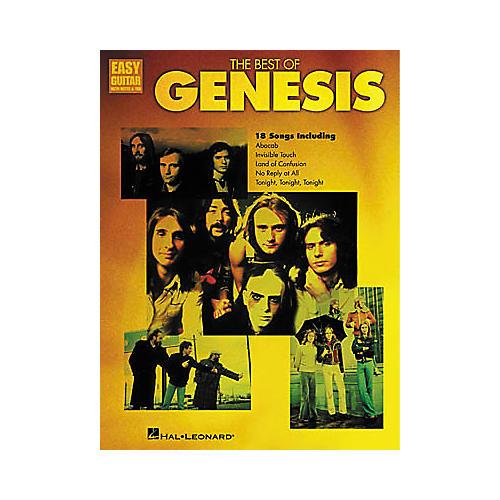 Hal Leonard The Best of Genesis Easy Guitar Book