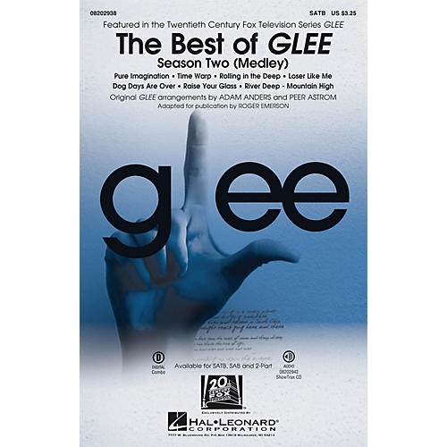 Hal Leonard The Best of Glee - Season Two (Medley) SATB by Glee Cast arranged by Adam Anders