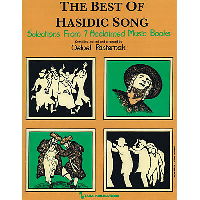 Tara Publications The Best of Hasidic Song (Selections from 7 Acclaimed Music Books) Tara Books Series Softcover