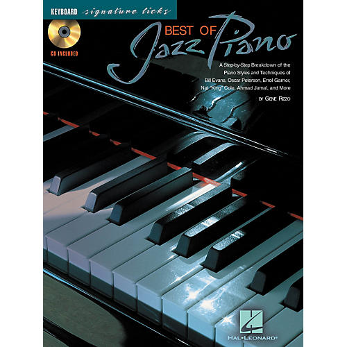 Hal Leonard The Best of Jazz Piano - A Step-by-Step Breakdown of the Piano Styles and Techniques of Bill Evans, Ocar Peterson, and Others (Book/CD)