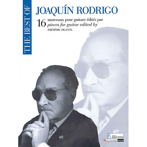 Ricordi The Best of Joaquin Rodrigo (16 Pieces for Guitar) Guitar Series Softcover