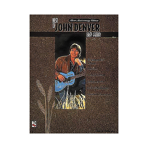 Cherry Lane The Best of John Denver Easy Guitar Book