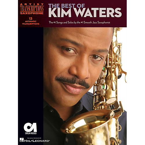 Hal Leonard The Best of Kim Waters Artist Transcriptions Series Book Performed by Kim Waters