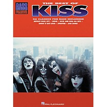 Hal Leonard The Best of Kiss Bass Guitar Tab Songbook