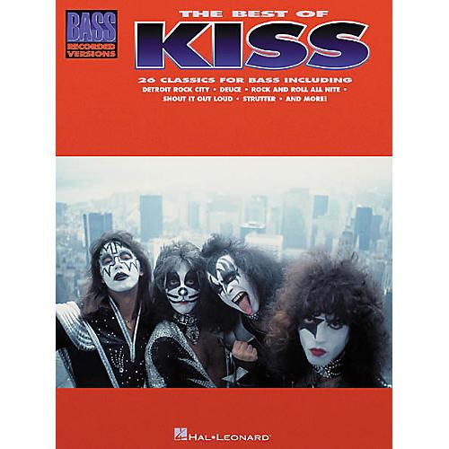 Hal Leonard The Best of Kiss Bass Guitar Tab Songbook
