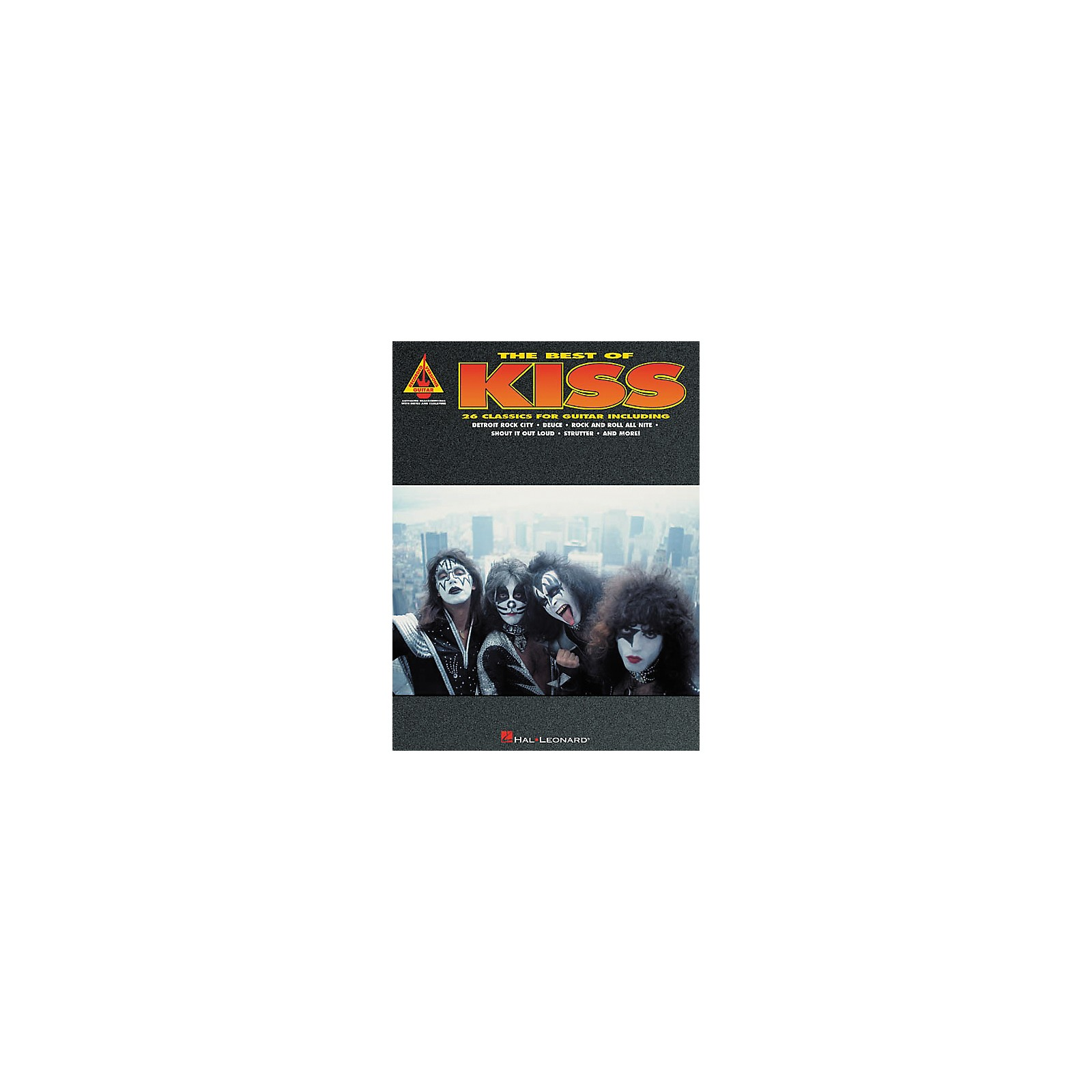 Hal Leonard The Best of Kiss Guitar Tab Songbook