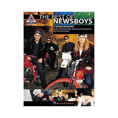 Hal Leonard The Best of Newsboys Guitar Tab Book