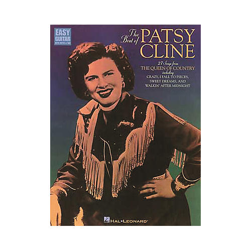 Hal Leonard The Best of Patsy Cline Easy Guitar Book