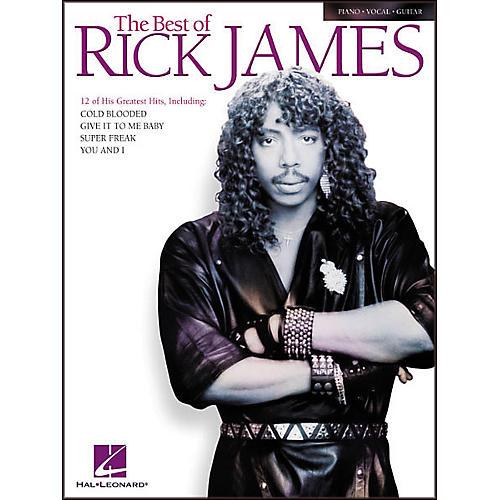 Hal Leonard The Best of Rick James Songbook