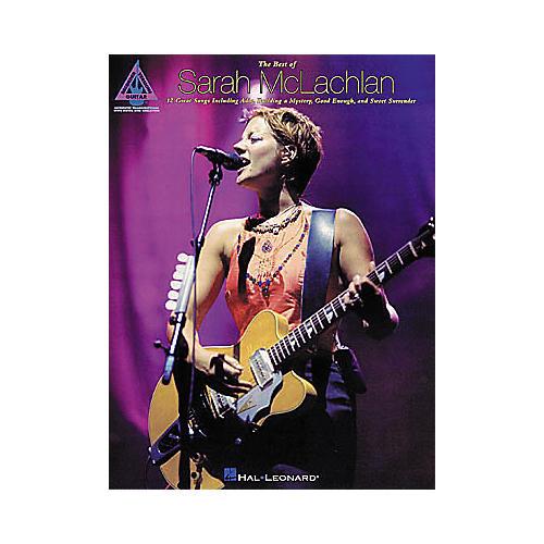 Hal Leonard The Best of Sarah McLachlan Guitar Tab Book