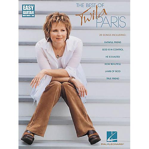 Hal Leonard The Best of Twila Paris Easy Guitar Tab Songbook