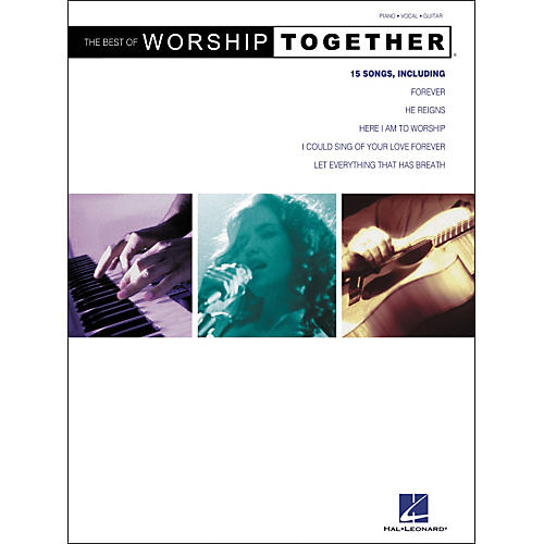 Hal Leonard The Best of Worship Together Piano, Vocal, Guitar Songbook