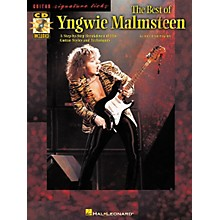 Hal Leonard The Best of Yngwie Malmsteen Guitar Signature Licks Book with CD