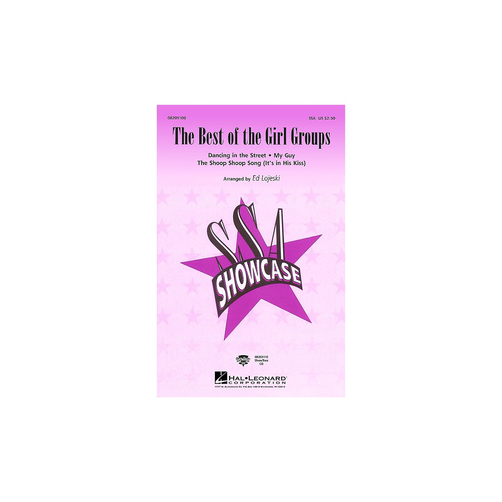 Hal Leonard The Best of the Girl Groups (Medley) SSA arranged by Ed Lojeski