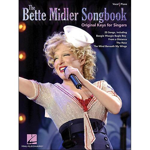 Hal Leonard The Bette Midler Songbook Original Keys for Singers