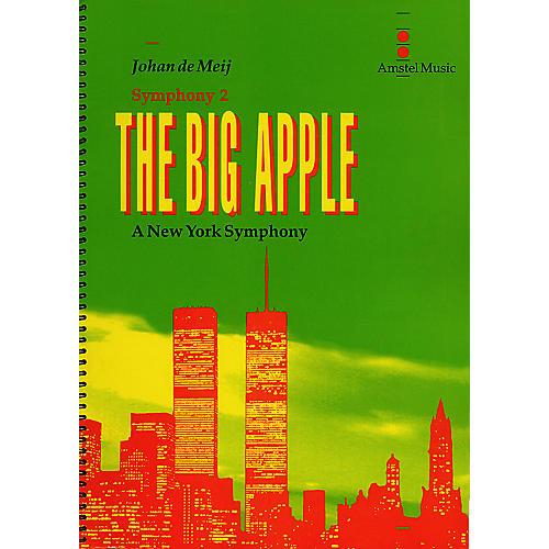Amstel Music The Big Apple (A New York Symphony)(Symphony No. 2) (Study Score) Concert Band Level 5-6 by Johan de Meij