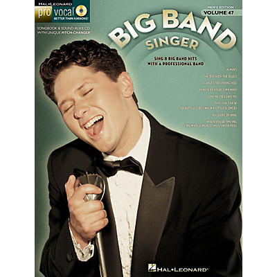 Hal Leonard The Big Band Singer (Pro Vocal Men's Edition Volume 47) Pro Vocal Series Softcover with CD by Various