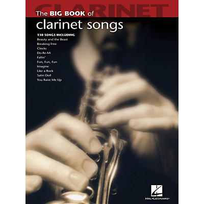 Hal Leonard The Big Book Of Clarinet Songs