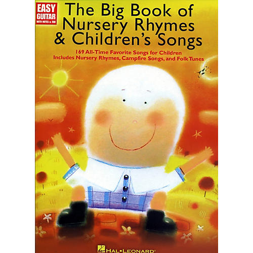 Music Sales The Big Book Of Nursery Rhymes & Children's Songs - Easy Guitar With Tab