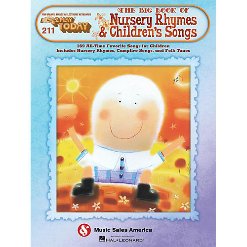 Hal Leonard The Big Book Of Nursery Rhymes & Children's Songs E-Z Play 211
