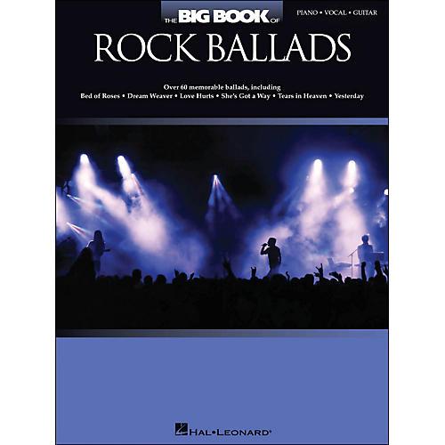 Hal Leonard The Big Book Of Rock Ballads arranged for piano, vocal, and guitar (P/V/G)