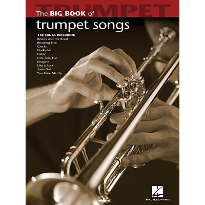 Hal Leonard The Big Book Of Trumpet Songs