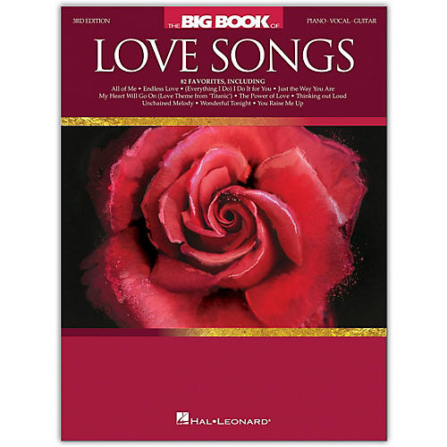 Hal Leonard The Big Book of Love Songs for Piano/Vocal/Guitar - 3rd Edition