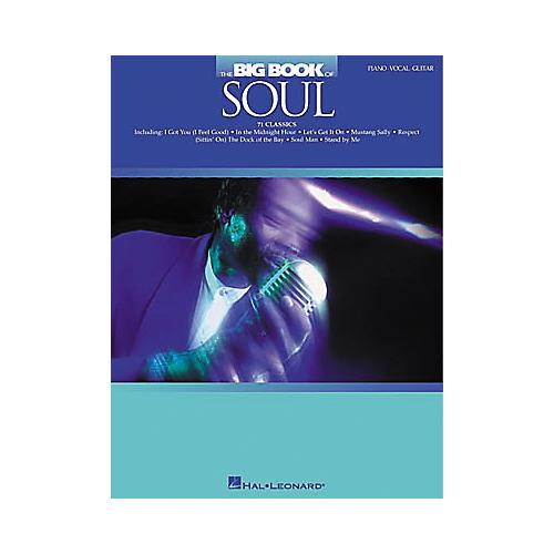 Hal Leonard The Big Book of Soul Piano/Vocal/Guitar Songbook