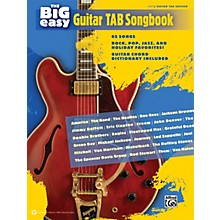 Alfred The Big Easy Guitar TAB Songbook
