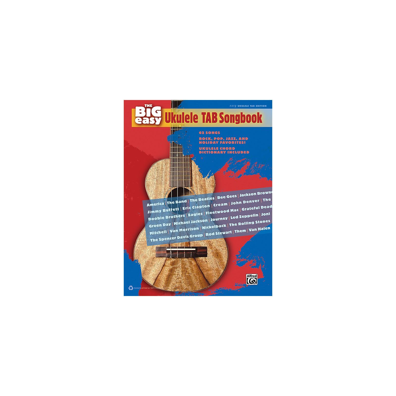 Alfred The Big Easy Ukulele TAB Songbook