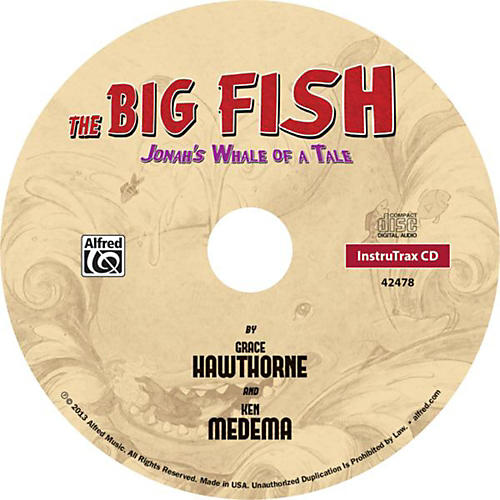Alfred The Big Fish - Christian Elementary Musical Instrument Track CD