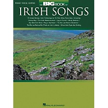Hal Leonard The Big of Irish Songs Piano/Vocal/Guitar Songbook
