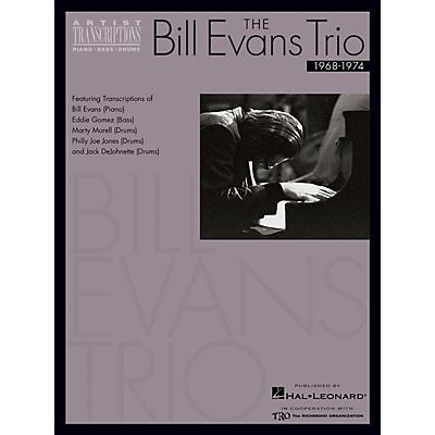 Hal Leonard The Bill Evans Trio - Volume 3 (1968-1974) Artist Transcriptions Series Performed by Bill Evans